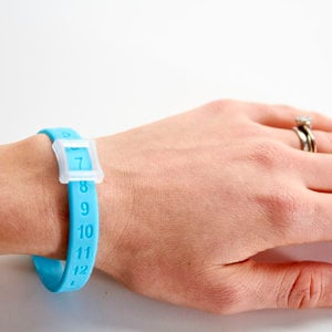 Kicks Count Wristband - Blue