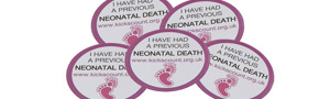 Previous Neonatal Death Sticker