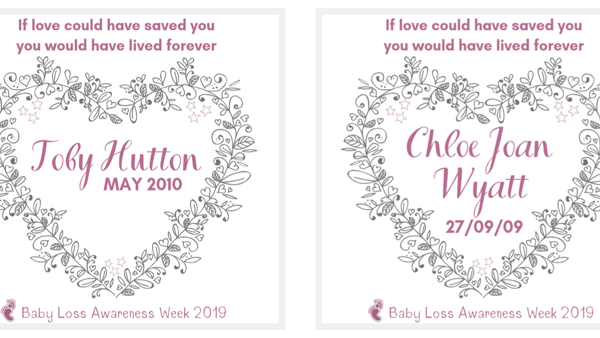 Baby Loss Awareness Images 2019