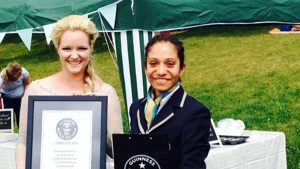 Guinness World Record Title achieved